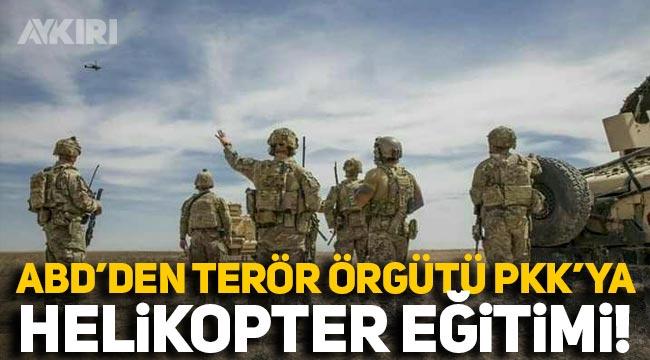 ABD'den terör örgütü PKK'ya helikopter eğitimi!
