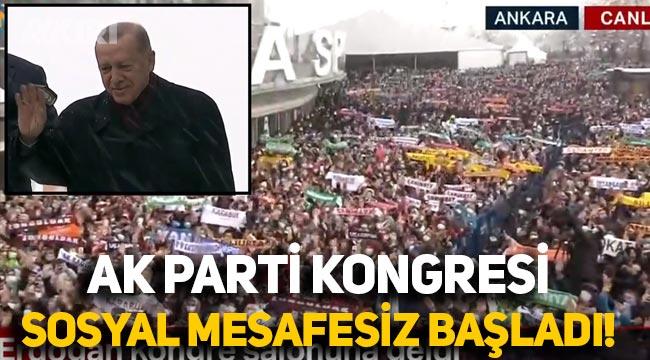 AK Parti'nin 7. Olağan Büyük Kongresi başladı! Erdoğan, partililere seslendi