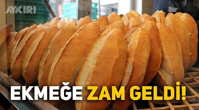 Ankara'da ekmeğe zam geldi