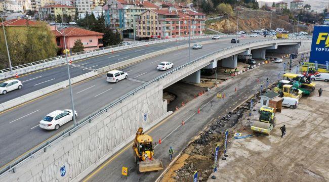 Ankara'da ulaşım hamlesi: Ayaş yolu ve Hasköy köprülü kavşağı hizmete açıldı