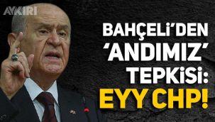 Bahçeli'den Andımız tepkisi: Eyy CHP