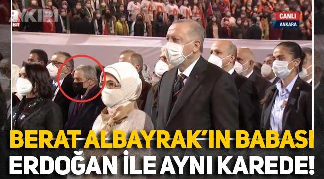Berat Albayrak'ın babası Sadık Albayrak, Erdoğan ile aynı karede