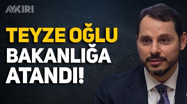 Berat Albayrak'ın teyze oğlu Kültür ve Turizm Bakanı Ersoy'un danışmanı oldu!