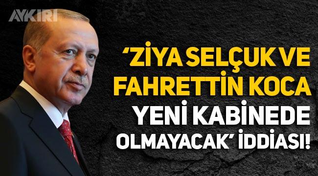 'Berat Albayrak partide görev alacak, Fahrettin Koca bakanlıktan azlini isteyecek' iddiası