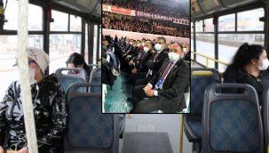 CHP'den Kayseri Belediyesi'ne tepki: Toplu taşımada konuşmayı yasakladı, 56 otobüsle kongreye gitti