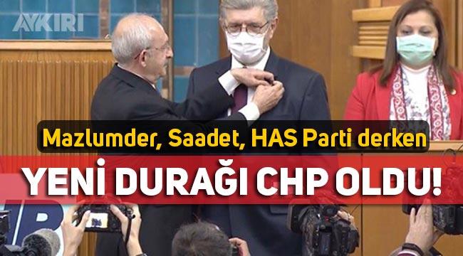 Cihangir İslam, CHP'ye katıldı