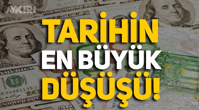 Dolar cinsi tahviller, Türkiye tarihinin en büyük düşüşünü yaşadı!