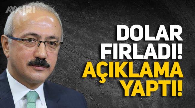 Dolar fırladı, Hazine ve Maliye Bakanı Elvan'dan yazılı açıklama geldi!