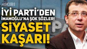Ekrem İmamoğlu'nun Pervin Buldanlı tweeti ortalığı karıştırdı, İYİ Parti'den ağır sözler: Siyaset kaşarı