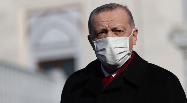 Erdoğan'dan soru soran gazeteciye uyarı: Çıkar şunu ya! Maske maske...