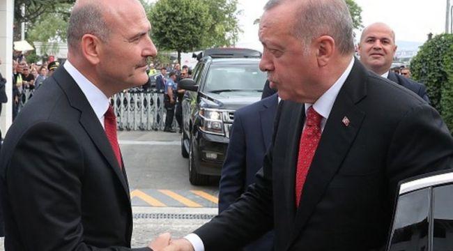 Erdoğan, İçişleri Bakanı Soylu'nun annesi için gazetelere taziye ilanı verdi