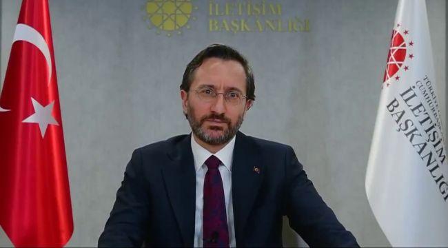 Fahrettin Altun'dan İngilizce 'HDP' açıklaması