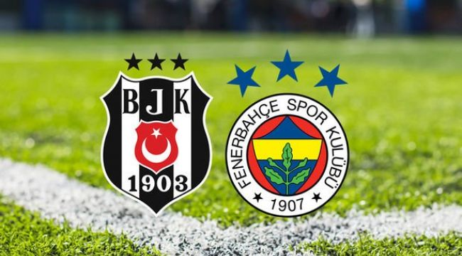 Beşiktaş-Fenerbahçe derbisi muhtemel 11'ler!