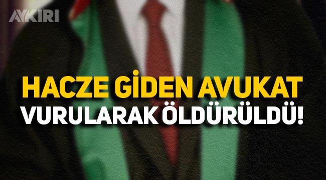 Gebze'de hacze giden avukat Ersin Arslan vurularak öldürüldü!