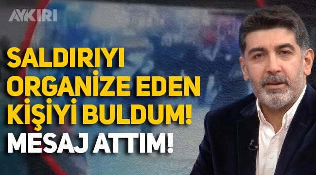 Halk TV önünde saldırıya uğrayan Levent Gültekin: Bu işi organize eden kişiyi buldum