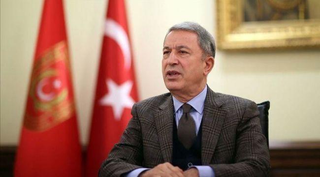 """Hulusi Akar: """"ABD, YPG yerine bizimle iş birliği yapmalı, biz hazırız"""""""