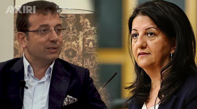 İmamoğlu'ndan HDP'li Pervin Buldan'a telefon!