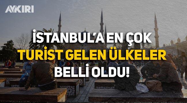 İstanbul'a en çok turist Rusya ve İran'dan geldi, turist sayısı yıllık yüzde 67 azaldı