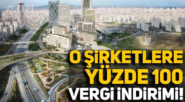İstanbul Finans Merkezi'nde yer alacak şirketlere 10 yıl boyunca yüzde 100 vergi indirimi!