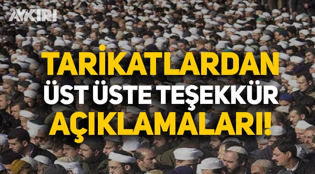 İstanbul Sözleşmesi'nin feshedilmesi sonrası tarikatlardan üst üste teşekkür açıklamaları!