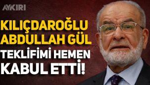 Karamollaoğlu: Kılıçdaroğlu, Abdullah Gül teklifimi hemen kabul etti