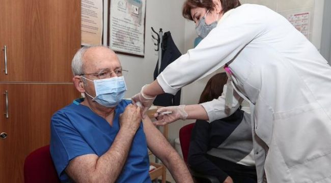 Kemal Kılıçdaroğlu: Sıramız geldi, ikinci doz koronavirüs aşımızı yaptırdık