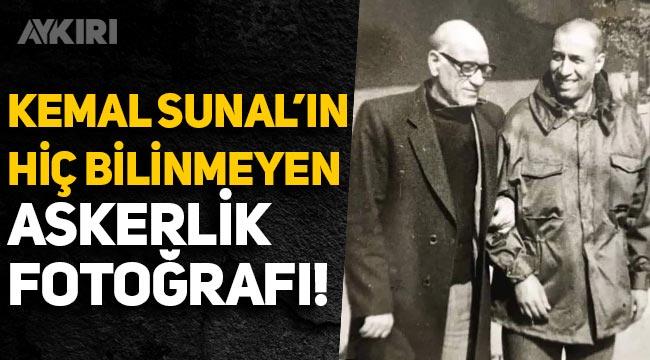 Kemal Sunal'ın hiç bilinmeyen askerlik fotoğrafı