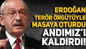 Kılıçdaroğlu'ndan Andımız açıklaması: Erdoğan, terör örgütü PKK ile masaya oturdu, Andımız kaldırıldı!
