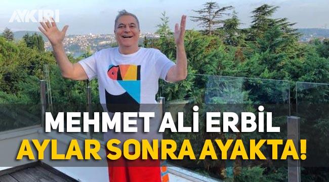 Mehmet Ali Erbil'in son durumu, aylar sonra ayakta ilk kare geldi