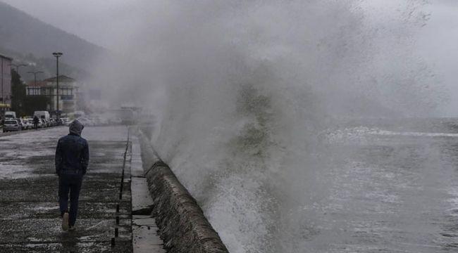 Meteoroloji'den denizler için kuvvetli fırtına uyarısı