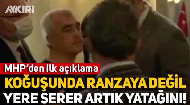 MHP'den 'Gergerlioğlu' için ilk açıklama
