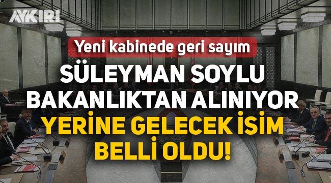 Süleyman Soylu İçişleri Bakanlığı görevinden alınıyor yerine Fuat Oktay getiriliyor