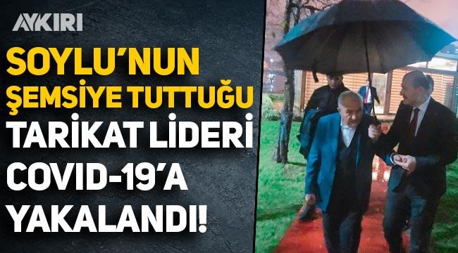 Süleyman Soylu'nun şemsiye tuttuğu Nur cemaati lideri Hüsnü Bayramoğlu yoğun bakıma kaldırıldı