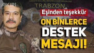 Trabzon Emniyet Müdürü Metin Alper'e on binlerce destek mesajı yağdı, eşi teşekkür mesajı paylaştı