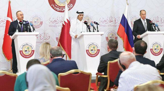 Türkiye, Rusya ve Katar Suriye'nin birliği içinanlaştılar