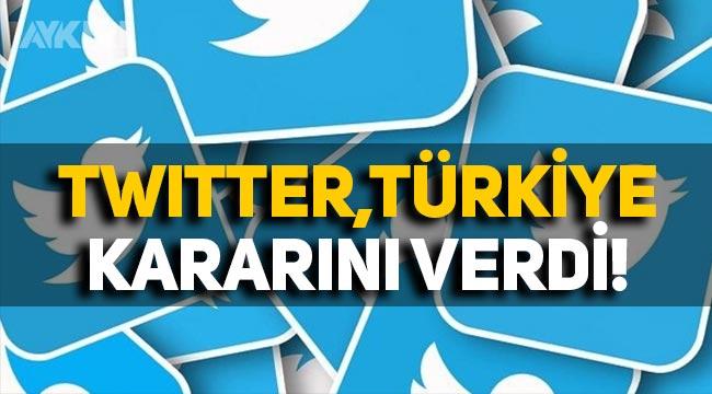 """Twitter'dan Türkiye kararı: """"Temsilci atayacak"""" iddiası!"""