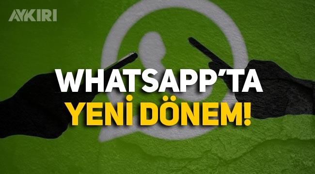 WhatsApp'ta yeni dönem: İhbar özelliği geldi!