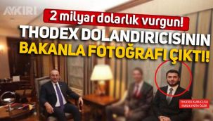 2 milyar dolarla yurt dışına kaçan Thodex'in kurucusu Faruk Fatih Özer'in Mevlüt Çavuşoğlu ile fotoğrafı ortaya çıktı