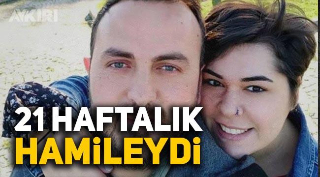 21 haftalık hamile Özgün Öztürk Covid-19'dan hayatını kaybetti.