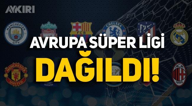 6 Premier Lig kulübü Avrupa Süper Ligi'nden çekildi, Lig başlamadan dağıldı!