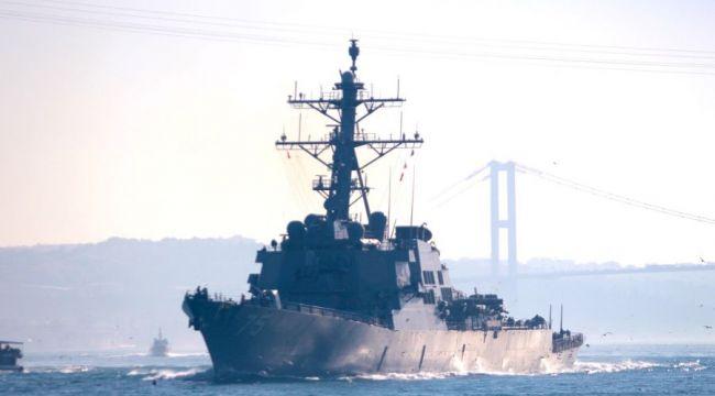 Boğazlardan geçerek Karadeniz'e gidecek ABD gemileriyle ilgili önemli gelişme