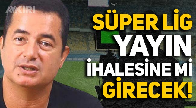Acun Ilıcalı, Süper Lig yayın ihalesine girecek iddiası