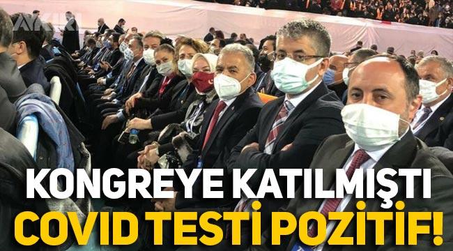 AK Parti kongresine katılan belediye başkanı Memduh Büyükkılıç koronavirüse yakalandı
