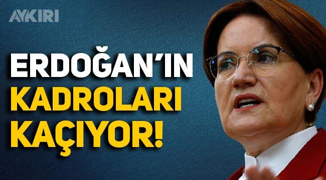 """Akşener, """"Salgın sürecini yönetemediniz, Erdoğan'ın kadroları kaçıyor"""""""