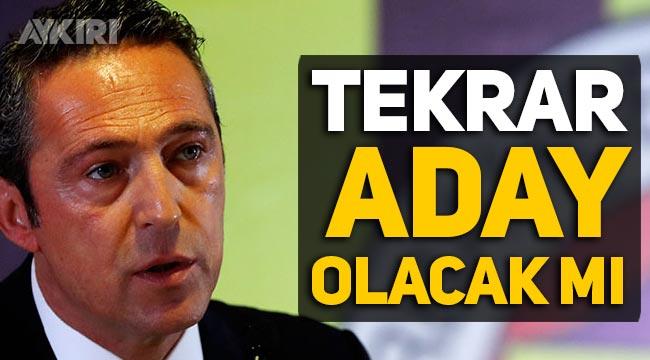Ali Koç açıkladı: Fenerbahçe başkanlığına aday olacak mı?