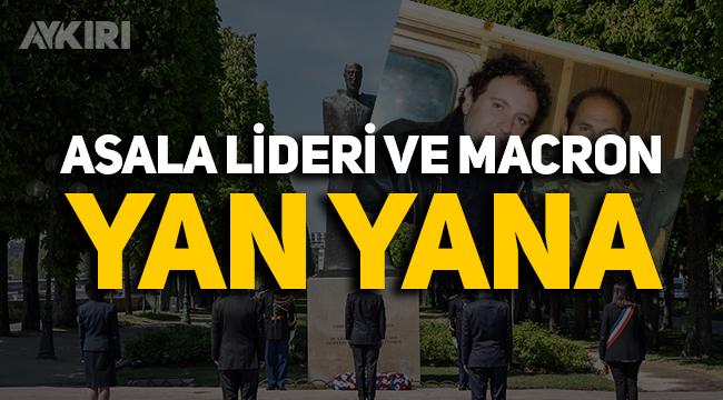ASALA lideri ile Macron yan yana!