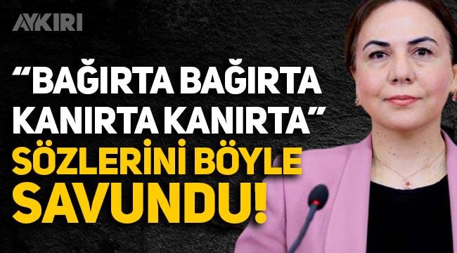 """""""Bağırta bağırta, kanırta kanırta"""" sözlerini kullanan AK Partili Yılmaz: Sözlerim cımbızlanıp çarpıtıldı"""
