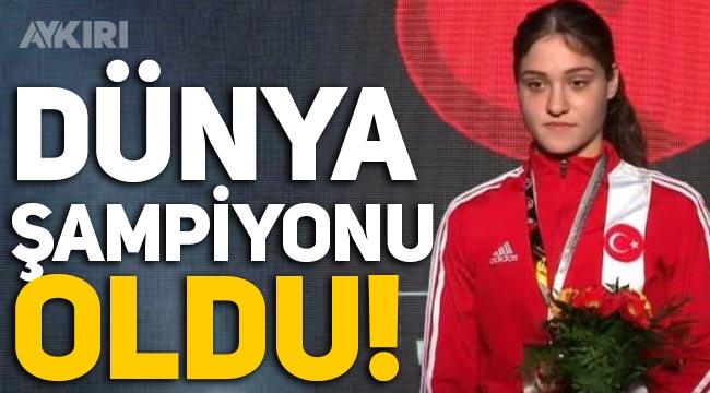 Büşra Işıldar, dünya boks şampiyonu oldu!