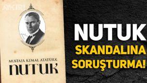 Çamlıyayla'daki 'Nutuk' skandalına Mersin İl Milli Eğitim'den açıklama