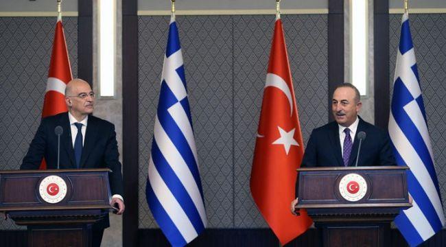 Çavuşoğlu-Dendias gerilimi ardından Yunanistan'dan ilk açıklama